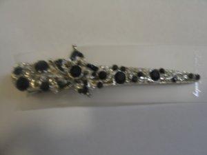 Beautiful Balck Stone Studded Earrings