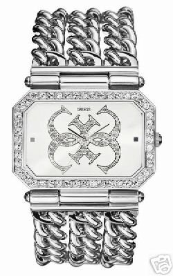 *Brand New* Guess Instigator Silver Jewelry Watch