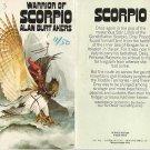 Alan Burt Akers - Warrior of Scorpio - UK pbk - 1975 - Dray Prescot - Kenneth Bulmer