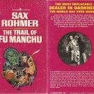 Sax Rohmer: The Trail of Fu Manchu - 1966 pbk