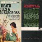 Lawrence Block: Death Pulls a Doublecross - 1961 pbk