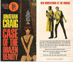 Jonathan Craig: Case of the Brazen Beauty - 1966 pbk