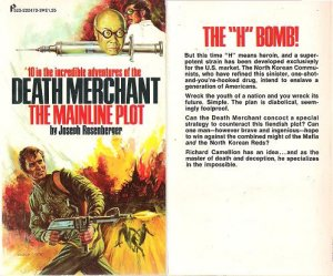 Joseph Rosenberger: Death Merchant #10 - The Mainline Plot