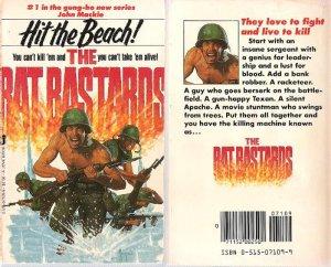 John Mackie: Hit The Beach - The Rat Bastards #1  - 1983 pbk