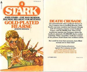 Joseph Hedges: Gold-plated Hearse - Stark #4 - 1975 pbk