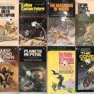 Edmond Hamilton - 7 Captain Future paperbacks