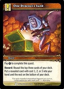 WoW TCG - Outland - One Draenei's Junk