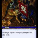 WoW TCG - Azeroth - Call the Spirit x4 - NM - World of Warcraft