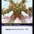 WoW TCG - Azeroth - Demoralizing Shout x4 - NM - World of Warcraft