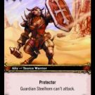WoW TCG - Azeroth - Guardian Steelhorn x4 - NM - World of Warcraft