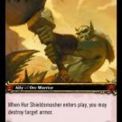 WoW TCG - Azeroth - Hur Shieldsmasher x4 - NM - World of Warcraft