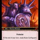 WoW TCG - Azeroth - Kulan Earthguard x4 - NM - World of Warcraft