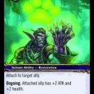 WoW TCG - Azeroth - Mark of the Wild x4 - NM - World of Warcraft