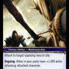 WoW TCG - Azeroth - Marked for Death x4 - NM - World of Warcraft