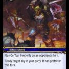WoW TCG - Azeroth - On Your Feet x4 - NM - World of Warcraft