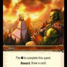WoW TCG - Azeroth - Your Fortune Awaits You x4 - NM - World of Warcraft