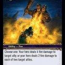 WoW TCG - Dark Portal - Arc of Flame x4 - NM - World of Warcraft