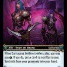 WoW TCG - Dark Portal - Darnassus Sentinels x4 - NM - World of Warcraft