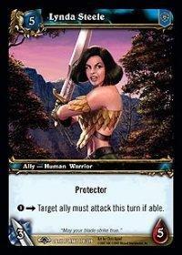 WoW TCG - Dark Portal - Lynda Steele x4 - NM - World of Warcraft