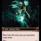 WoW TCG - Dark Portal - Sister Rot x4 - NM - World of Warcraft