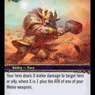 WoW TCG - Dark Portal - Slam x4 - NM - World of Warcraft