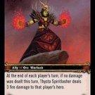 WoW TCG - Dark Portal - Thysta Spiritlasher x4 - NM - World of Warcraft