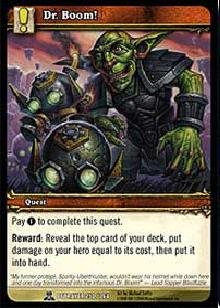 WoW TCG - Betrayer - Dr. Boom! x4 - NM - World of Warcraft