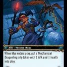 WoW TCG - Dark Portal - Mya, Dragonling Wrangler x4 - NM - World of Warcraft
