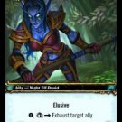 WoW TCG - Azeroth - Galahandra, Keeper of the Silent Grove x4 - NM - World of Warcraft
