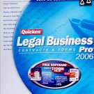 Quicken Legal Business Pro 2006 NIB Contracts & Forms CD