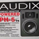 PH-5vs Audix Powered Speakers - New In Box