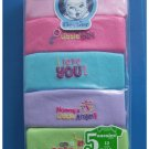 5 Pack Baby Onesies 12 months Girl Short Sleeve