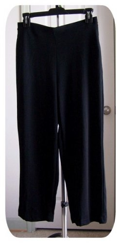 Black Juniors Flood Pants Medium Size 7-9