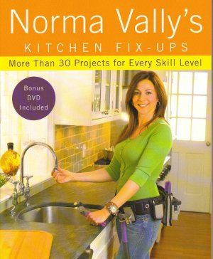 Norma Vally's Kitchen Fix-Ups 50 Projects for Every Skill Level FREE SHIP