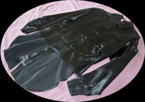 Vintage Punk? French Designer Etienne Brunel Black Outfit Size 38 (US 4)