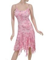 Soft Pink Asymmetrical Summer Dress