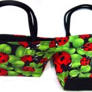 Lady Bug Mini Purse or Makeup Bag