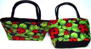 Lady Bug Mini Purse or Makeup Bag