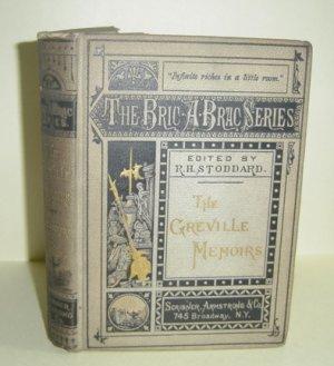 The Greville Memoirs, The Bric-A-Brac Series Edition