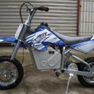 Blue X-Treme Scooters XM-500e Electric Dirt Bike 500 watt 36 volt