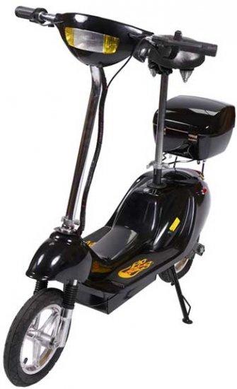 Black X-Treme X-360 36 Volt Electric Scooter
