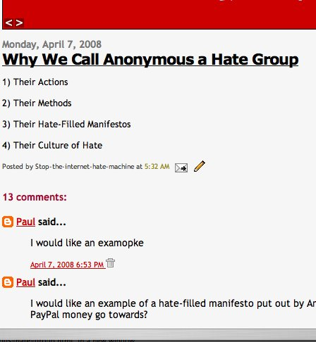Anonymous Hate Group Vol 4