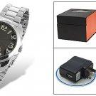 4GB Spy Mini Camera Watch Hidden Cam Video Voice Recorder DVR Free Shipping