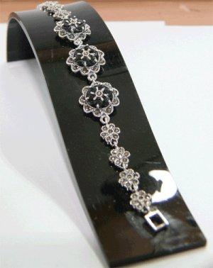 Free Shipping 925 silver bangle Genuine Sapphire