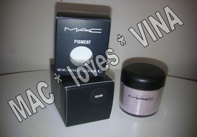 MAC Eye Pigment * HELIUM * 1/4 sample - $ave Pigments