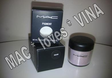 MAC Eye Pigment * HELIUM * 1/2 sample - $ave Pigments