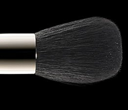 MAC cosmetics small contour brush * 109 *  + FREE MAC brush cleanser sample