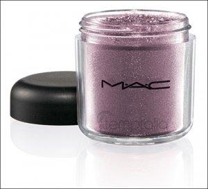 NEW MAC Rose Romance LE Pigment * Circa Plum * 1/2 sample - $ave Pigments