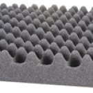 "Acoustic Foam 2-1/2"" 24"" x 18"" UL 94"