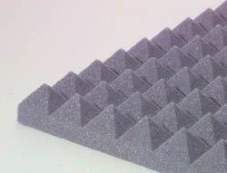 "Pyramid Design Panel 2"" Charcoal"